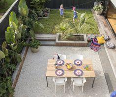Step inside the coolest compact courtyard garden