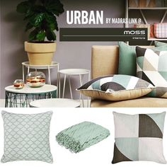 Love our new stock urban style cushions & throws #mossinteriors #shopmoss3280 #flowergallery #destinationwarrnambool #cushions #throws #shop3280 # by mossinteriors