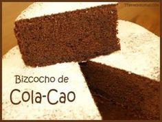 En esta receta mostramos como hacer un bizcocho de Cola-cao sencillo. Esta muy rico y a los niños les encanta. Con la receta paso a paso te quedará genial