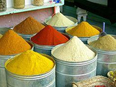 spices market, marocco      marrakech