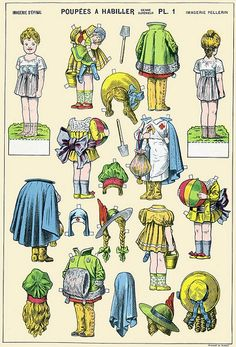 paper doll - 1 by sonobugiardo, via Flickr