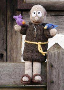 Puppet ST FRANCIS / FRANZ VON ASSISI Handpuppe