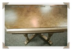 fabulous finishes, patty henning, paint store, workshops, diy paints, metallic finish, furniture for sale, shop online shop.fabfinisher.com, wood grained top,caromal colours,