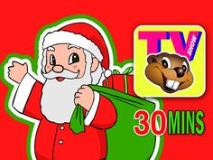 """It's Saturday Morning and this Week's """"Busy Beavers TV Show"""" is Waiting for You! We've created a 30 Minute """"Christmas Special"""" filled with our Favorite Classic Kids Christmas Songs - Rudolph, Frosty, Jingle Bells and Much More. Have a Musical Merry Christmas - with Busy Beavers!"""