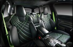 50. Audi RS6 - The 50 Most Outrageous Custom Car Interiors | Complex