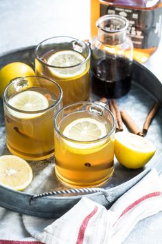 Whether youve got a cold cough or just a case of the winter blues a Hot Toddy will wrap around you like a warm blanket and soothe your weary bones. Heres the classic recipe for a delicious hot cocktail you can make all season long. Hot Toddy Recipe For Colds, Apple Cider Hot Toddy, Cooking With Bourbon, Best Bourbons, Best Comfort Food, Comfort Foods, Cocktail, Smoothie Drinks, Rezepte