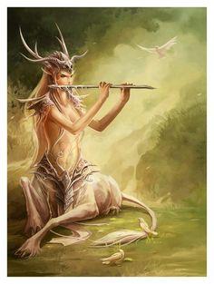 white hind by *sandara