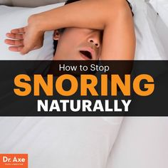 How to stop snoring - Dr. Axe