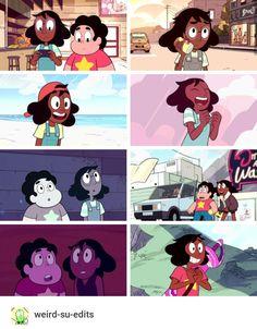 Connie, but she always had short hair