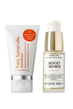 Kate Somerville ExfoliKate Intensive Exfoliating Treatment   Sunday Riley Good Genes Treatment