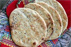 Homemade Naan are very easy to make! My recipe will show you how you can make this delicious flat bread in no time at all! Perfect accompaniment to any curry of your choice!