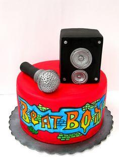 Beatbox Cake  #music