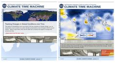 Climate Time Machine By NASA  http://climate.nasa.gov/interactives/climate_time_machine