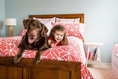 © Sonya Olivia Photography | Daily Dog Tag | Girl and her Dog- Chocolate-Labrador-Retriever