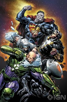 david finch color comic covers | ... : Forever Evil #3 Cover - by David Finch | DC Comics' Art, Illustr