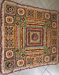 Crochet Mandala Pattern, Demelza, Ravelry, Knit Crochet, Blankets, Bohemian Rug, Patterns, Knitting, Rugs