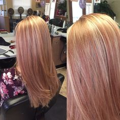 Full foil. A rose gold appearance Heavy on the gold+ a dash of red and light blonde intermixed