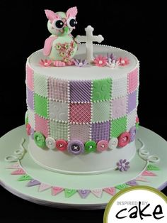 Christening Cake - Cake by Inspired by Cake - Vanessa