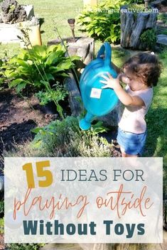 15 Ways to Play in the Backyard Without Toys The Growing Creatives Indoor Activities, Educational Activities, Toddler Activities, Preschool Activities, Summer Activities, Kids And Parenting, Parenting Tips, Scavenger Hunt For Kids, Kids Up