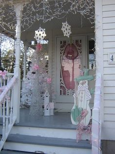 Olivia's Romantic Home: Shabby Chic Pink Christmas