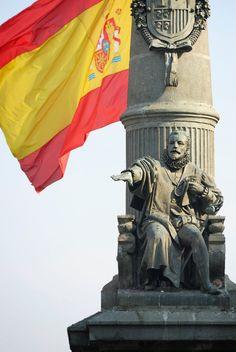Efe22- Monumento al Justicia de Aragón, Zaragoza