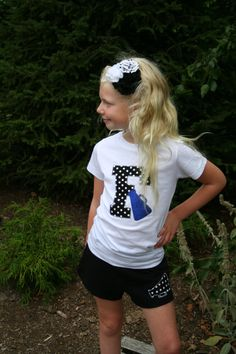 Polka Dot and Glitter Megaphone Cheer Shirt, Cheerleading Shirt, Cheerleading Tanks, Cheer, Cheerleading, Cheer Athletics