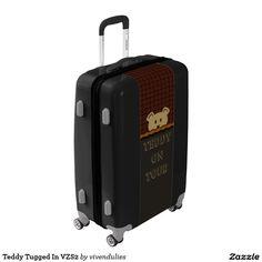 Teddy Tugged In VZS2 Luggage