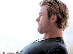 Chris Hemsworth's GQ photoshoot