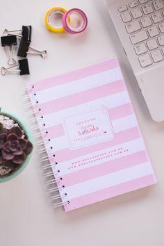 Para se organizar: Blog Planner da coleção Morando Sozinha // O MUNDO DE JESS
