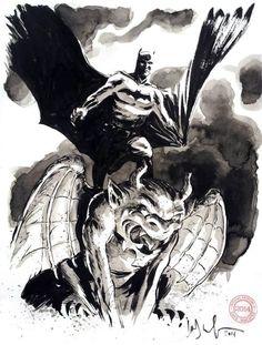 Batman by Dave Wachter