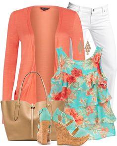 15 Maneras de Vestir con un top con Flores - Outfits - Moda