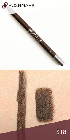 Any 3 for $35 Urban Decay 24/7 Eyeliner Lush Urban Decay?Lush?is a warm brown with a matte finish  ?is described as a ?rich smoky matte brown.? It?s a deepened, dark brown with a matte finish and subtle warm undertones.? Urban Decay Makeup Eyeliner