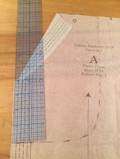 Rhonda's Creative Life: Master Sewing and Design Certification/Drafting and Pockets