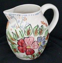Southern Pottery, Erwin, Tennessee; Blue Ridge Dinnerware patterns - Elegance