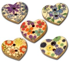 50 Heart Shaped Painted Wooden Buttons in Mixed Designs with Shizaru Designs Gift Bag Shizaru Designs,http://www.amazon.com/dp/B009PV6S74/ref=cm_sw_r_pi_dp_HpOCtb0WRMX8YXZS