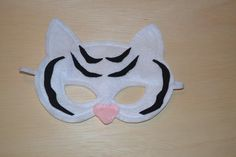 Child size Tiger Mask by Mahalo on Etsy, $10.00