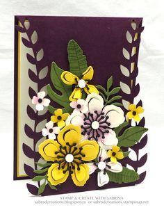 Stamp & Create With Sabrina: Botanical Builder Card 3