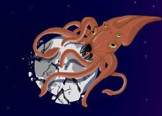 Day 8 Moon Kraken