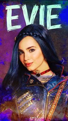 Sofia Carson as Evie the daughter of the Evil queen in Descendants 2