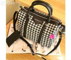 Résultats Google Recherche d'images correspondant à http://cdn103.iofferphoto.com/img3/item/530/438/836/new-givenchy-women-s-houndstooth-handbag-shoulder-bag-9208.jpg