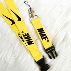 New NIKE Yellow and Black Lanyard! Brand new! Nike Accessories Hosiery & Socks