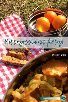 Mittagessen ist fertig! | lunch for work · the green walnuts Frittata, Zero Waste, Lunch, Posts, Breakfast, Green, Tips, Blog, Fresh Fruits And Vegetables
