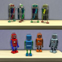 Mod The Sims - Playable Robot Toys