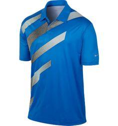 Nike Men's Fashion Stripe Short Sleeve Polo at Golf Galaxy