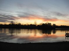 sunset at Mountain Run Lake (Culpeper, VA)
