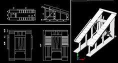 3d brete -details (dwg : Autocad drawing)