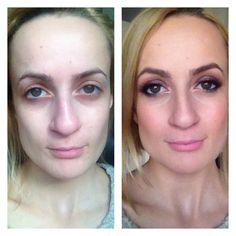 #beforeandafter #makeup #nophotoshop #noedit