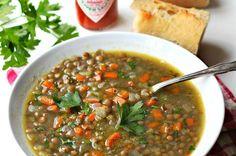 Lentil Soup Recipe | Mexican recipes #mexican #recipe #soups #food