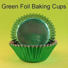 Green Foil Baking Cups Edible Pearls, Baking Cups, Party Cakes, Wax, Cupcakes, Green, Desserts, Food, Shower Cakes