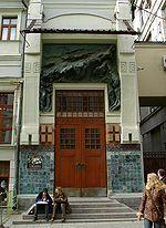 1900-1903: Moscow Art Theatre reconstruction (facade curtain artwork)__Fyodor Schechtel - Wikipedia, the free encyclopedia
